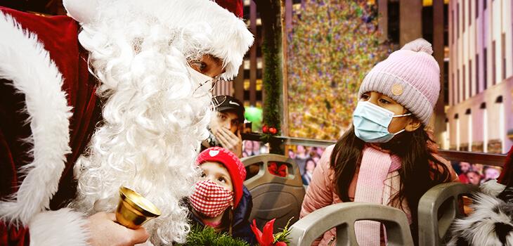 Christmas Experience 2021 2021 North Pole Express Santa Christmas Bus Ride In Nyc Christmas Bus Nyc Polar Express Experience