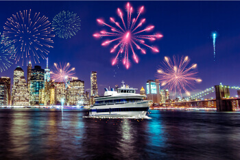 NYC 4th of July Fireworks Cruise (Premium Admission)