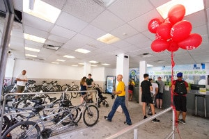 the Reception of BIke Rental Central Park